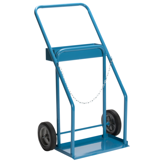 Large cylinder hand truck