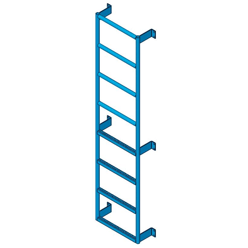 Side step ladder