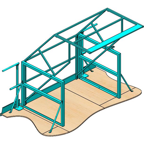 Pivot safety gate