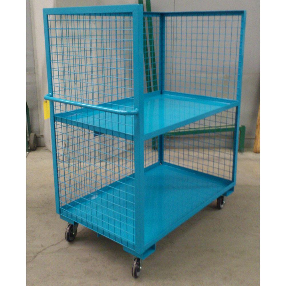 Three Sided Shelf Truck Unitran Manufacturers Ltd