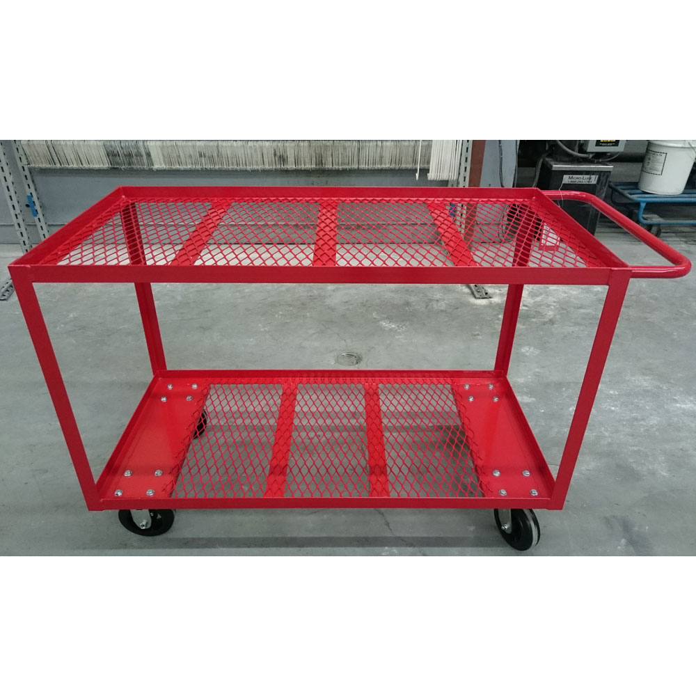 Mesh Shelf Service Cart Unitran Manufacturers Ltd