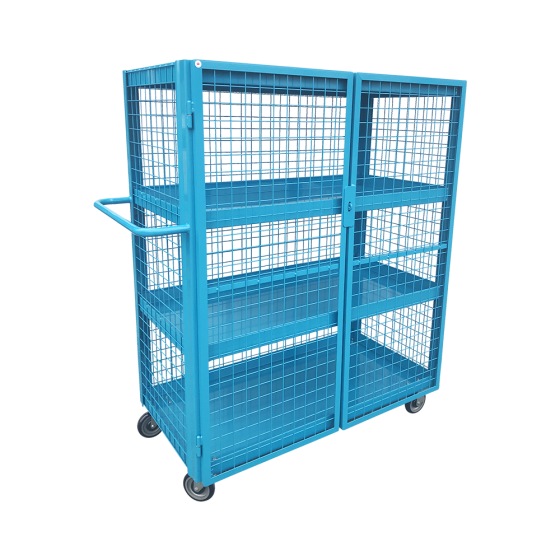 Mesh security cart