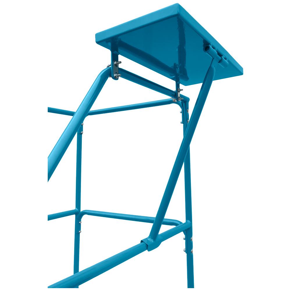 Ladder shelf tray