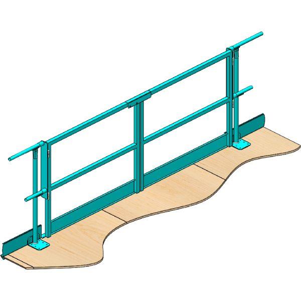 Mezzanine Loading Gate